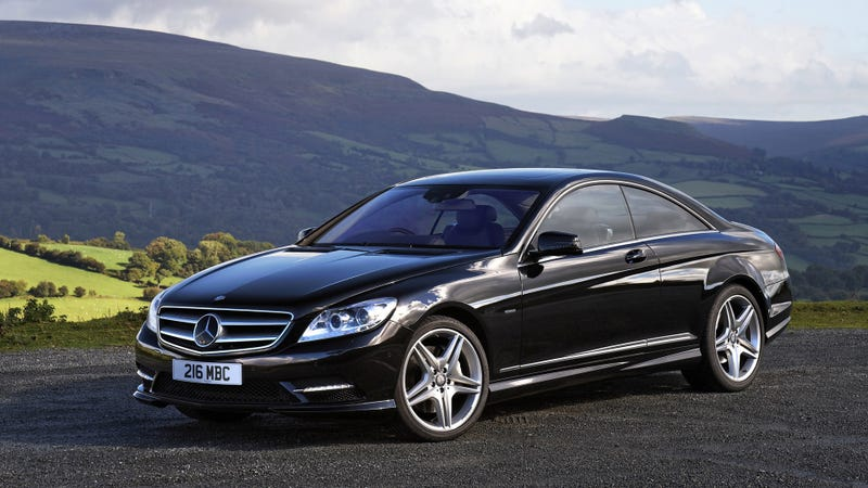 Illustration for article titled What kind of car is the Mercedes CL