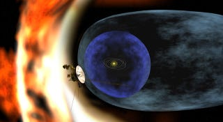 Illustration for article titled Today we'll find out if aliens hijacked Voyager 2