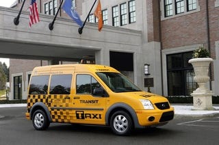 Illustration for article titled 2011 Ford Transit Connect Taxi