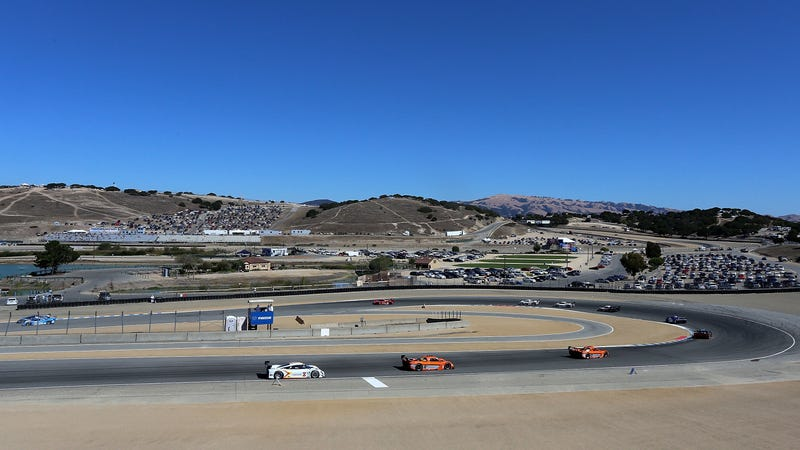 The hairpin at Laguna Seca in 2013.
