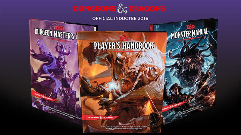 Illustration for article titled Dungeons & Dragons Earns A Spot In The National Toy Hall Of Fame