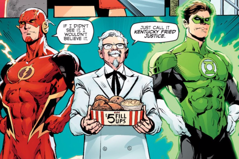 Illustration for article titled The KFC Superhero Comic Is One of the Weirdest Things You'll Read All Week