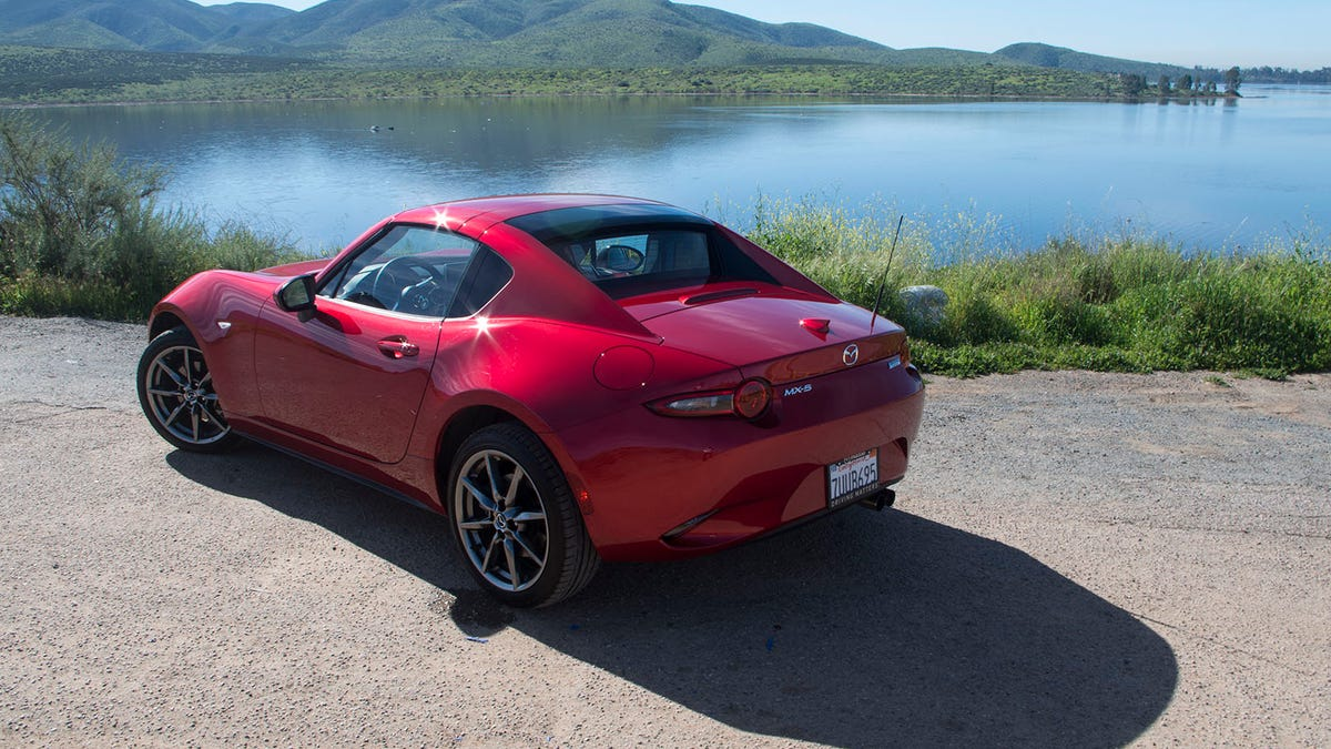 There's One Big Difference Between Driving A Mazda Miata And