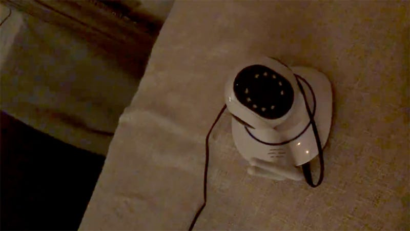 Woman's Webcam Starts Following Her Movements and Taunts 'Hello'