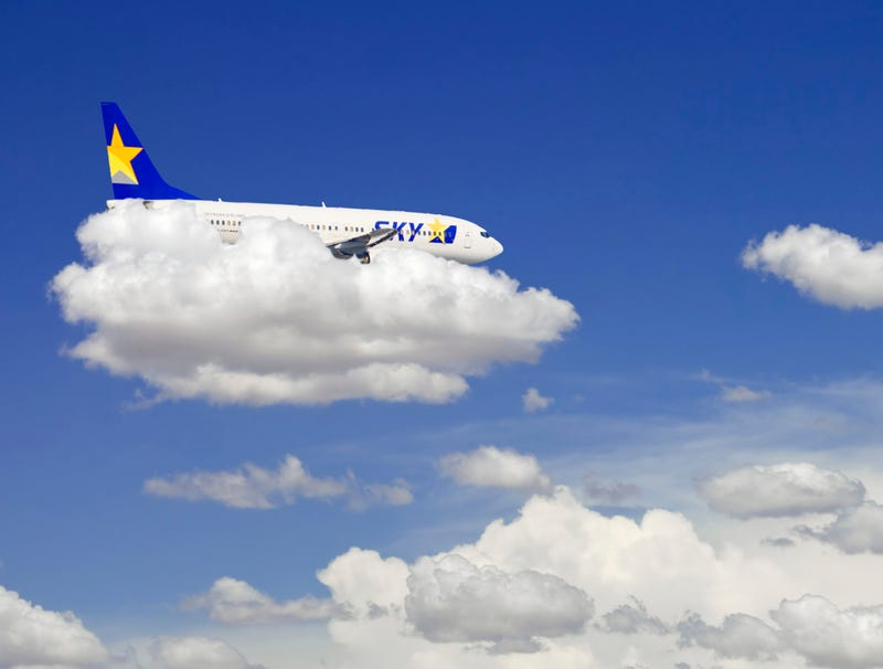 Illustration for article titled Drunk Pilot Going To Pull Over Onto Cloud Until He Sobers Up A Little