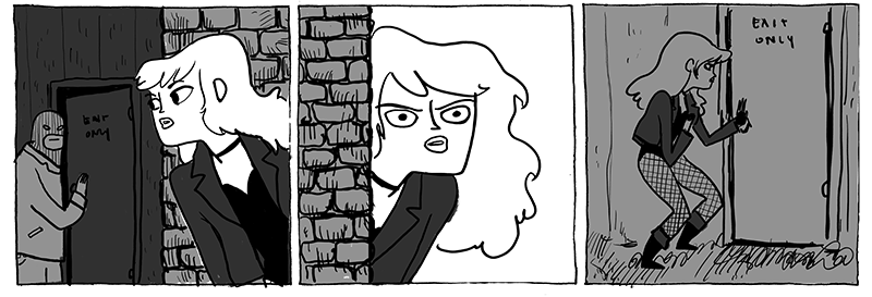 Illustration for article titled Kate Beaton reveals why Black Canary shouldn't go to concerts