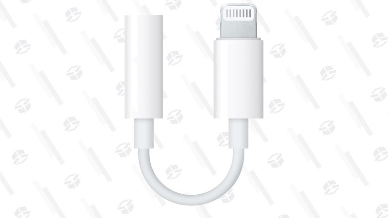 Apple 3.5mm to Lightning Adapter | $7 | Daily Steals | Promo code KJAPL