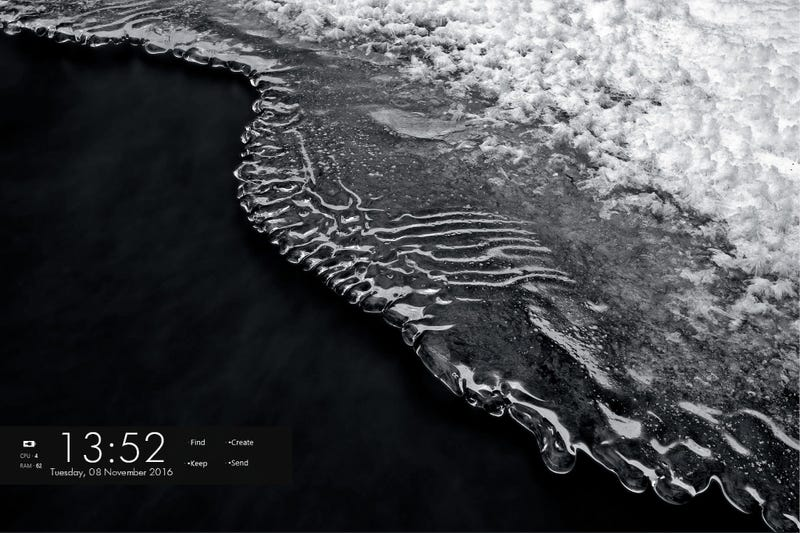 Illustration for article titled The Black Sand Desktop