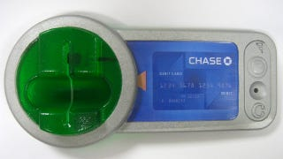 Illustration for article titled Fraudsters Now Using 3D Printers To Make Authentic Looking ATM Skimmers