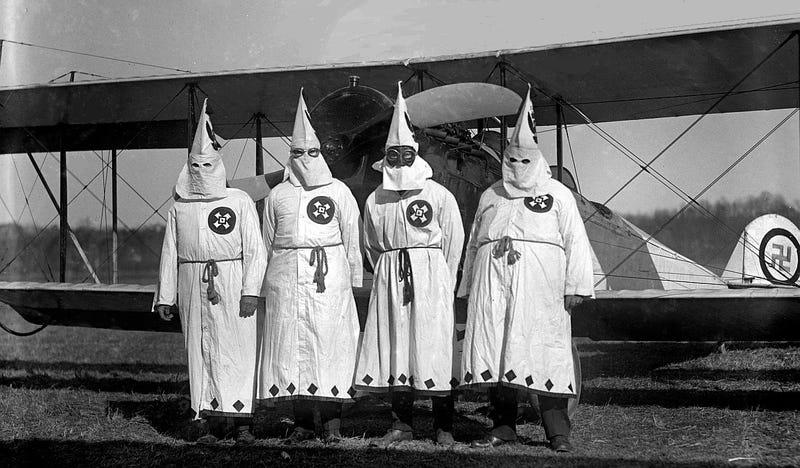 Illustration for article titled Ku Klux Klan Air Force