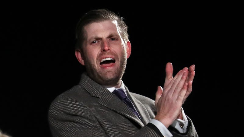 Illustration for article titled How Would You Describe the Sound of Eric Trump's Voice in This Clip?