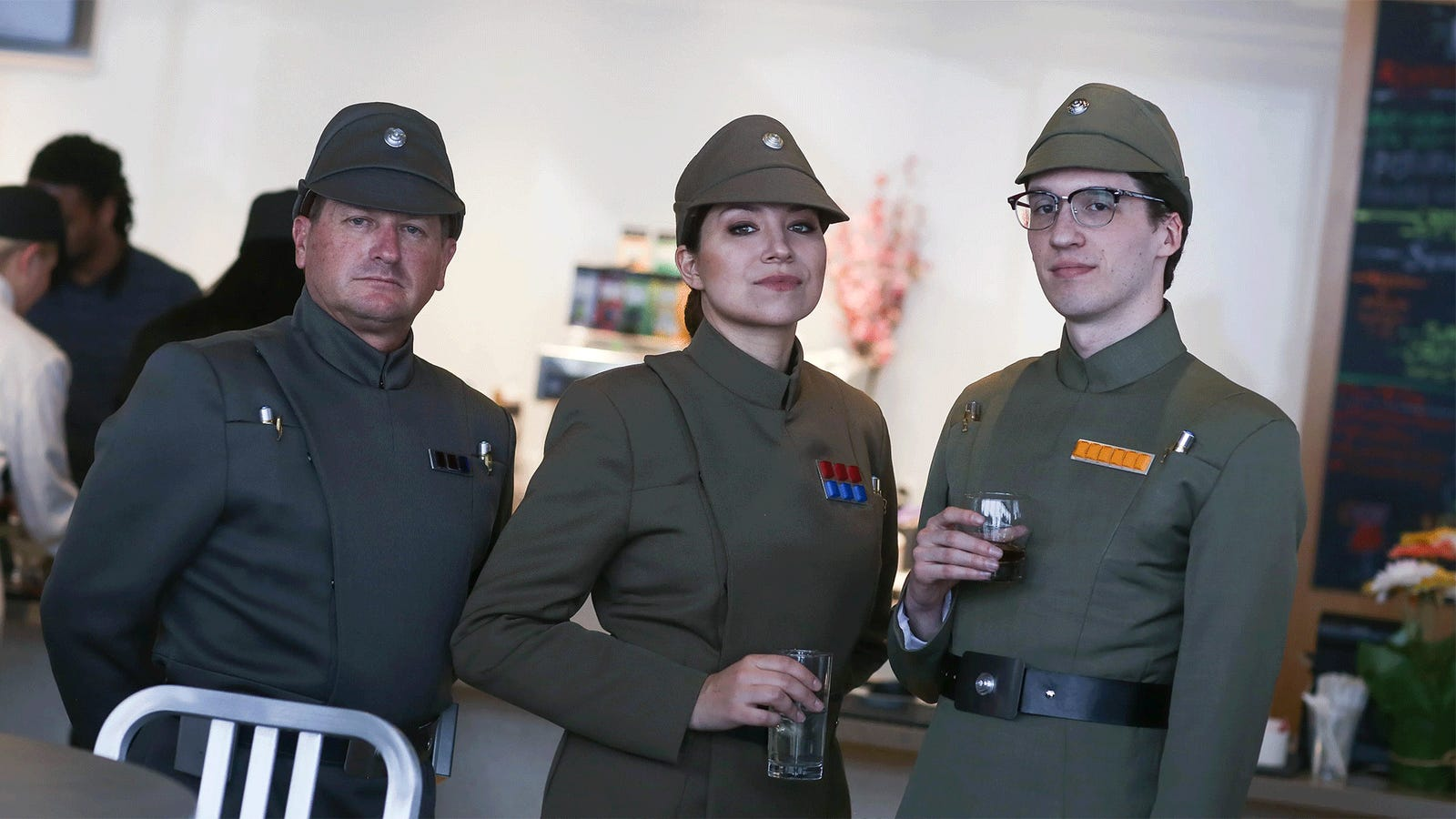 The Empire Had A Cocktail Party, No Rebels Allowed