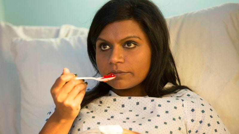 Illustration for article titled The Mindy Project returns after… a lengthy hospital stay?