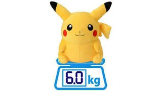 Illustration for article titled A Life-Sized Pikachu Plush Toy Is Going On Sale