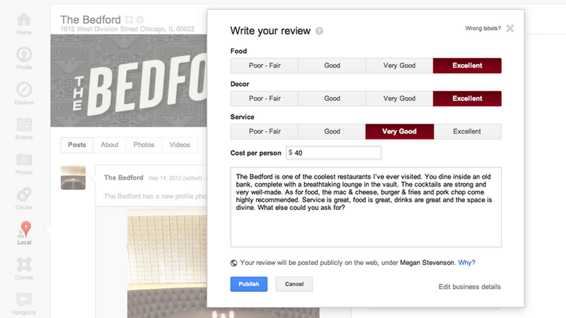 Illustration for article titled Zagat Ratings Are Too Confusing for Google Users (Updated)