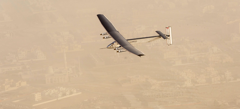Illustration for article titled Solar Impulse Has Successfully Started Its Round-the-World Trip