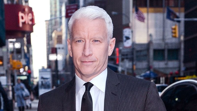 Illustration for article titled Anderson Cooper Decides To Keep Recent Gay Conversion Therapy Private