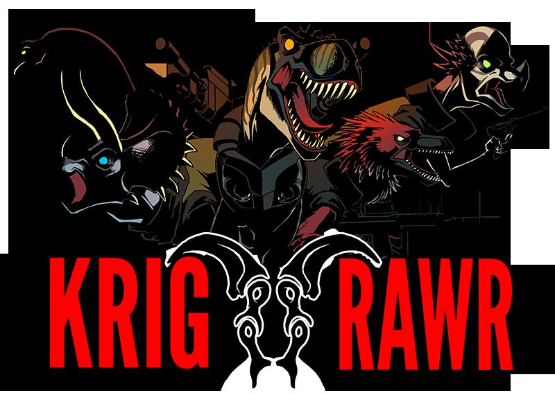 Illustration for article titled Krig RAWRs new header image