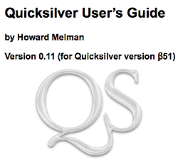 Illustration for article titled Free Quicksilver user guide ebook