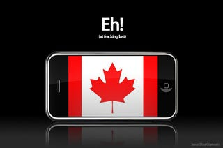 Illustration for article titled iPhone Finally Announced in Canada