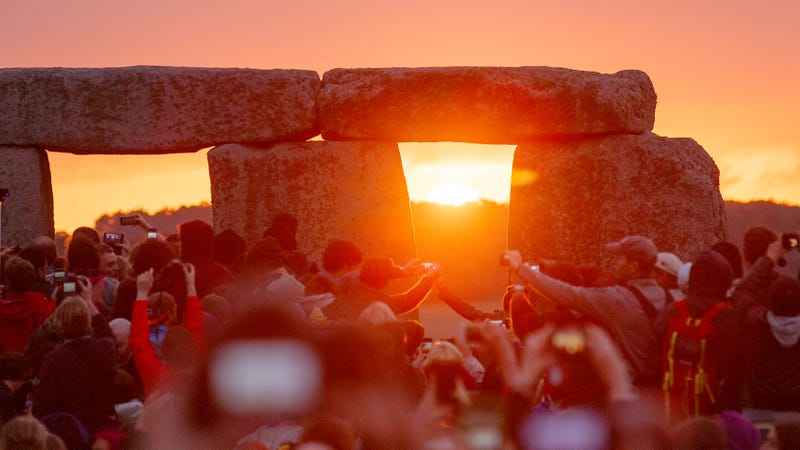 Solstice at Stonehenge, 2015.