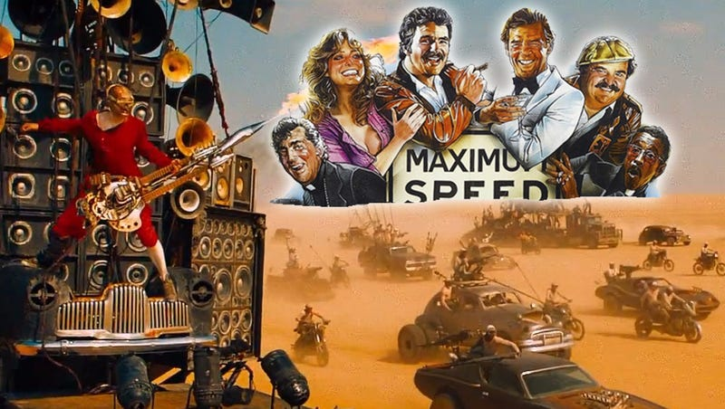 Illustration for article titled This Cannonball Run/Mad Max: Fury Road Mashup Is All You Need To Be Happy In Life