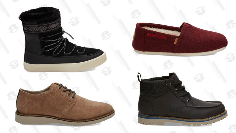 20% Off Sale | TOMS | Promo code BYEWINTER