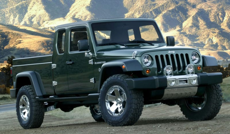 Illustration for article titled The Jeep Wrangler Pickup May Finally Be Happening