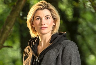 Illustration for article titled The 13th doctor (or 14th if you include the war doctor) is a woman