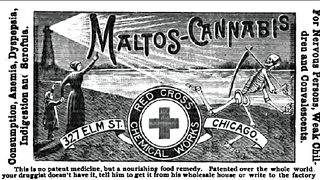 Illustration for article titled An ad for Maltos-Cannabis, the most cannabis-o-riffic food supplement of the 1890s