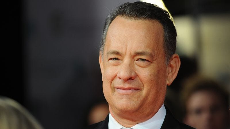 Tom Hanks has a life we'd like to live. (Photo via Getty Images)
