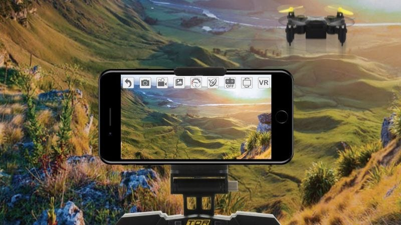 Drone Energy Sky Beetle con cámara | $28 | AmazonFoto: Amazon