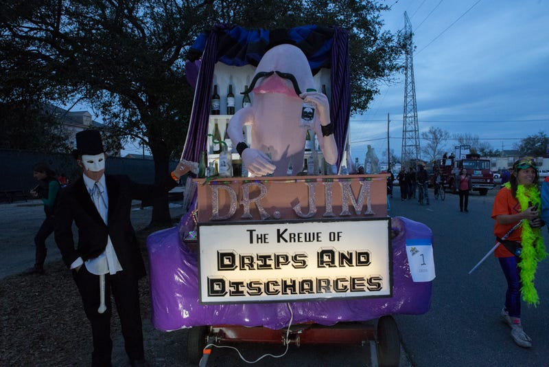 Illustration for article titled Dicks On Parade: Live From New Orleans' Krewe Du Vieux Spectacular