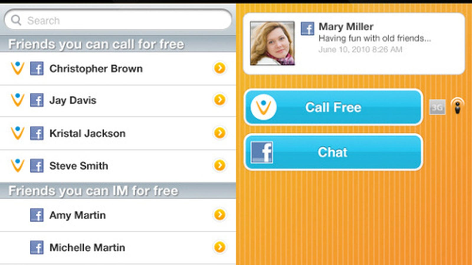 Vonage Mobile App Lets You Call Facebook Friends From iPhone