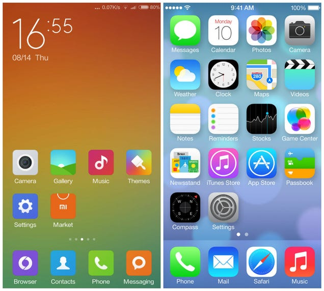 Xiaomi's Next OS Is The Most Shameless iOS Rip-Off You Will Ever See