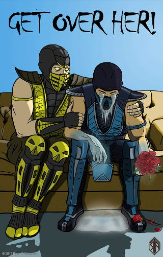 Illustration for article titled Breakup Advice, from Mortal Kombat