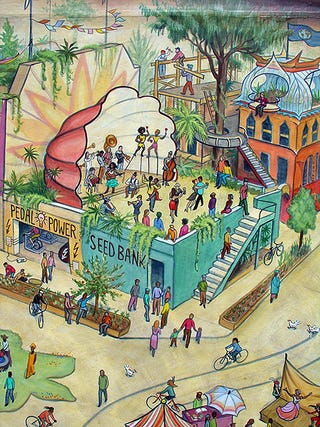 Illustration for article titled A Bright Vision Of An Eco-Friendly Utopia