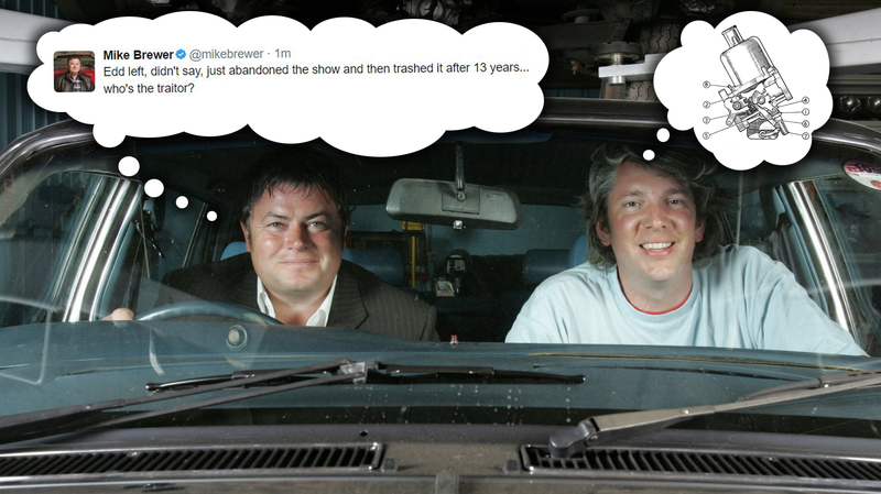 Illustration for article titled The Annoying Guy From Wheeler Dealers Calls Edd China A 'Traitor'