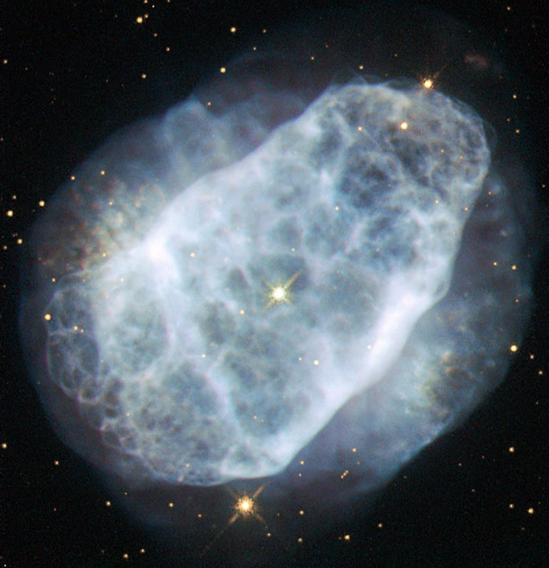 Illustration for article titled A Milky Cloud of a Nebula Floats Through Space