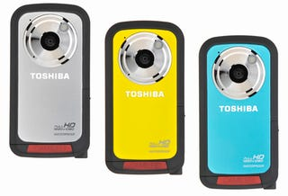 Illustration for article titled Toshiba Camileo BW10 Is Their First Waterproof Camcorder