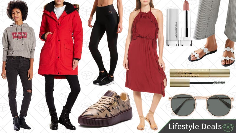 Illustration for article titled Thursday's Best Lifestyle Deals: PUMA, The North Face, Nordstrom Rack, Sephora, and More