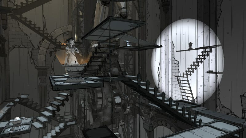 Illustration for article titled Gothic Puzzle Game Iris Fall Plays Beautifully With Light And Shadow