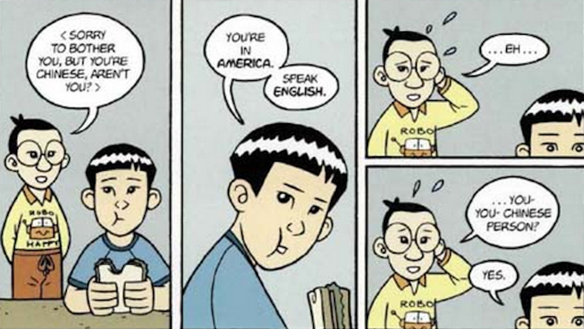 Dating an american born chinese comic