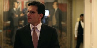GOP House Majority Leader Eric Cantor (Mark Wilson/Getty Images)