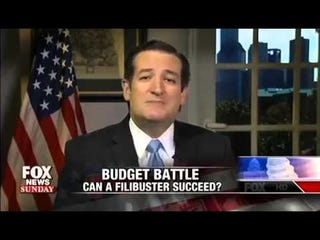 """Illustration for article titled Ted Cruz is an idiot, Wendy Davis """"Abortion Barbie"""""""