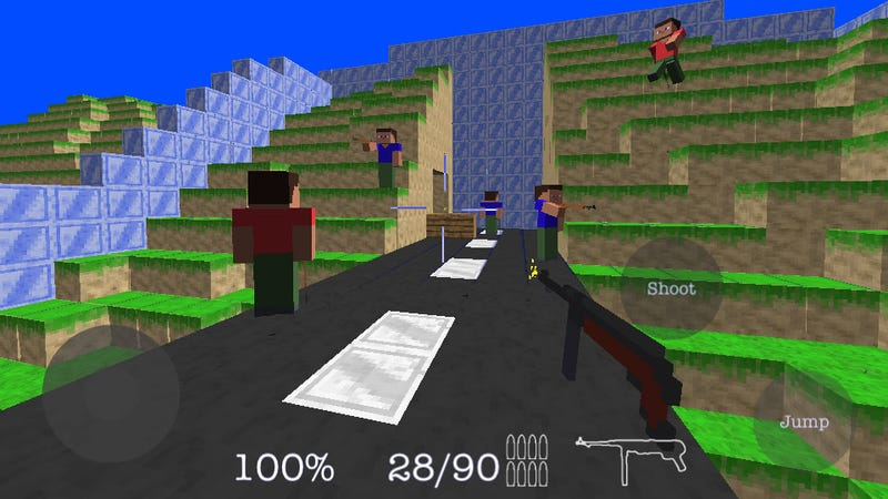 Illustration for article titled This Week's iPhone Charts: Minecraft With Guns Wins the Day