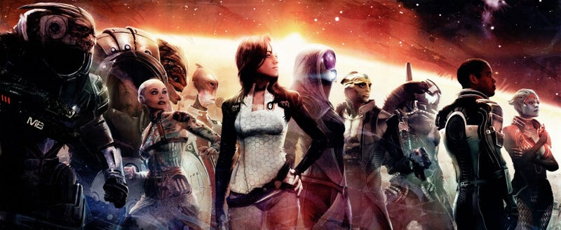 Illustration for article titled Mass Effect 2 Is Free Right Now