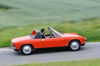 Illustration for article titled The Porsche 914 is cool
