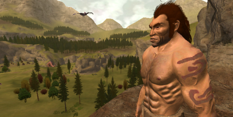 Illustration for article titled A Cool-Looking Xbox Caveman Game That Never Happened