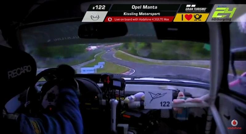 Screencap via Nürburgring 24 Hours stream.